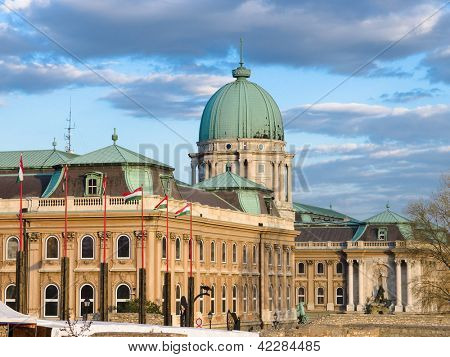 Buda Castle is the historical castle and palace complex of the Hungarian kings in Buda, it was also called Royal Palace and Royal Castle, Budapest