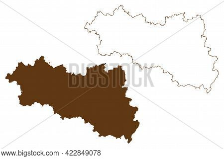 Burgenlandkreis District (federal Republic Of Germany, Rural District, Free State Of Saxony-anhalt)