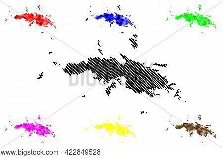 Saint Thomas District, United States Virgin Islands (u.s. County, United States Of America, Usa, U.s