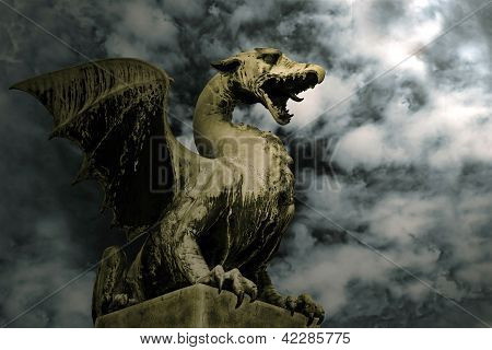 Dragon In Stone