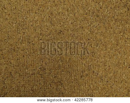A cork back board texture close up, poster
