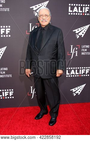 LOS ANGELES - JUN 2:  Edward James Olmos at the 7th and Union Premiere -  Los Angeles Latino International Film Festival at the TCL Chinese Theater IMAX on June 2, 2021 in Los Angeles, CA