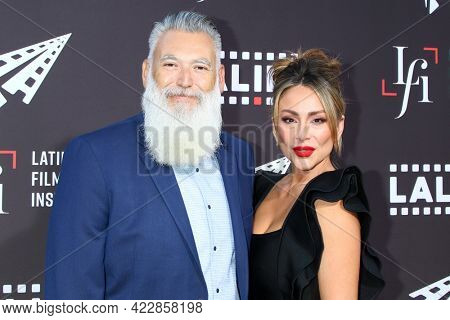 LOS ANGELES - JUN 2:  Christopher Acebo, Christina Urias at the 7th and Union Premiere -  Los Angeles Latino International Film Festival at the Chinese Theater IMAX on June 2, 2021 in Los Angeles, CA