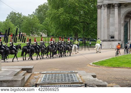 The Blues And Royals, Royal Horse Guards And 1st Dragoons, Is A Cavalry Regiment Of The British Army