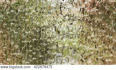 Liquid Luxury Shiny Gold Background Abstract Golden Abstract Illustration With Ripples