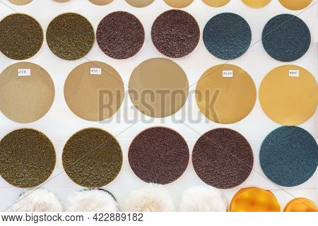 Various Grinding And Polishing Dry Ground Paper Disc For Rust Or Paint Removal Prepare Surface Of Wo