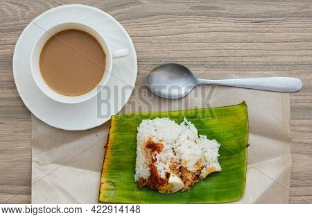 Flatlay Picture Of Malaysian Breakfast Style