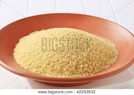 detail of bowl with cuscus