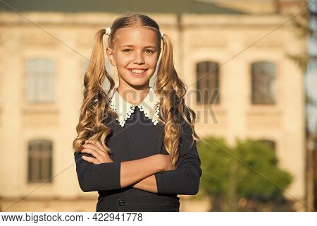 First Day Of School. Happy Child Back To School. School Time. Education And Study. Startup. Septembe