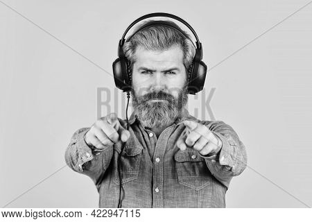 Try This. Listening To Music. Time To Relax. Brutal Hipster Wear Earphone. Singing And Dancing. Enjo