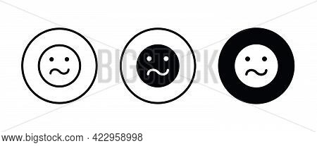 Irritated Angry Mad Emoji, Angry Icons Button, Vector, Sign, Symbol, Logo, Illustration, Editable St