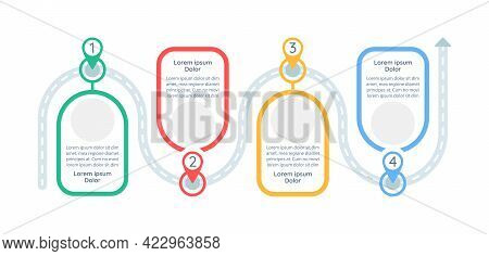 Problem-solving Plan Vector Infographic Template. Strategy Presentation Design Elements With Text Sp