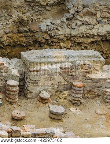Roman Baths, Athens, Greece