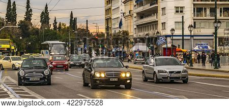 Amalias Avenue, Athens Greece