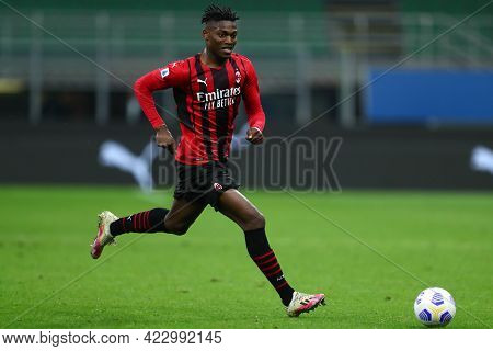 Milano, Italy. 16 May  2021. Rafael Leao Of Ac Milan  During The Serie A Match Between Ac Milan And