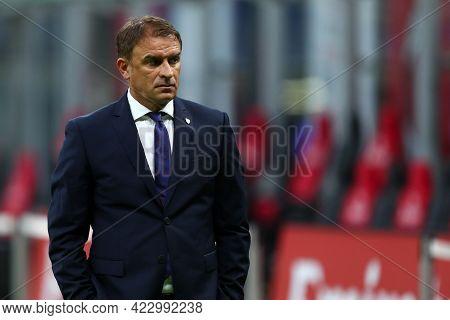 Milano, Italy. 16 May  2021. Leonardo Semplici Of Cagliari Calcio  During The Serie A Match Between