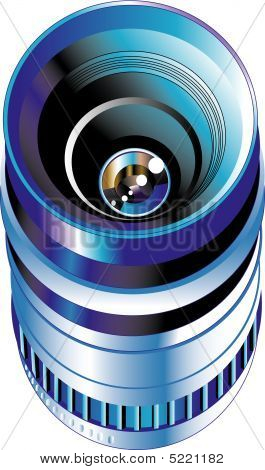 Objective Lens For Digital Photo Camera