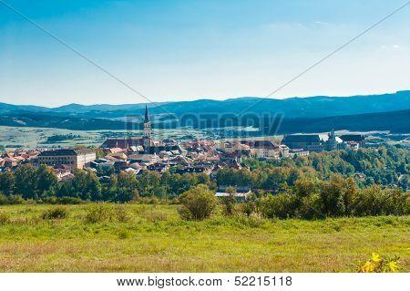 Famous Town of Levoca, Slovakia. UNESCO World Heritage Site