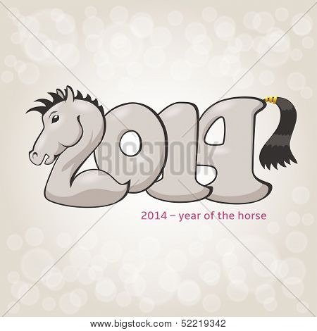 Horse stylization in 2014 form