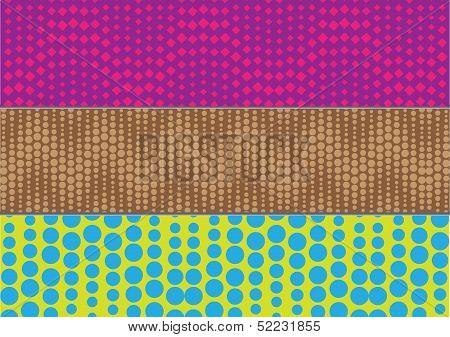 Texture Banner Halftone