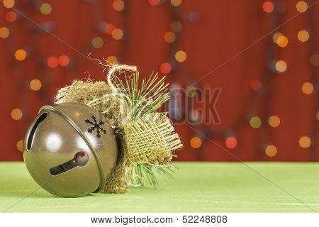 Christmas Sleigh Bell Background