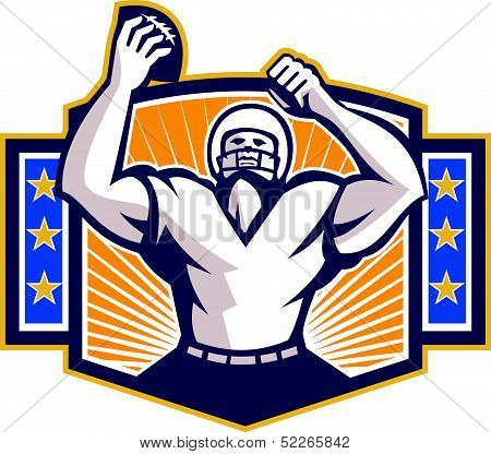 Gridiron Football Player Touchdown