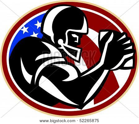 American Football Wide Receiver Ball
