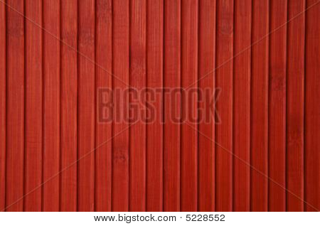 Red Painted Wood Background