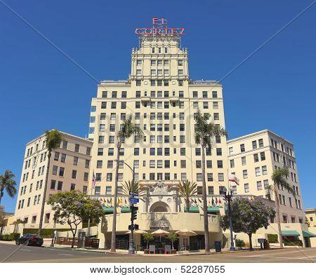 An El Cortez Apartment Hotel Shot, San Diego