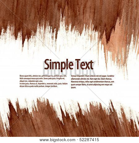 Abstract Frame For Text.