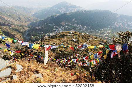 Himalayan landscape. McLeod Ganj. India