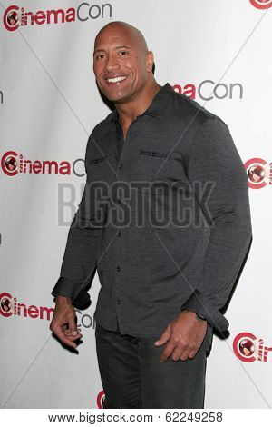 LOS ANGELES - MAR 24:  Dwayne Johnson, The Rock at the Paramount Pictures CinemaCon 2014 Photo Call at Caesars Palace on March 24, 2014 in Las Vegas, NV