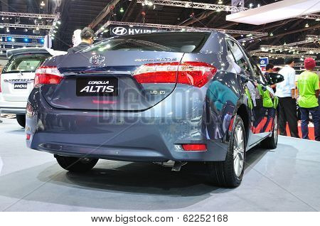 Nonthaburi - March 25:toyota Alits Esport Is Ondiisplay At The 35Th Bangkok International Motor Show