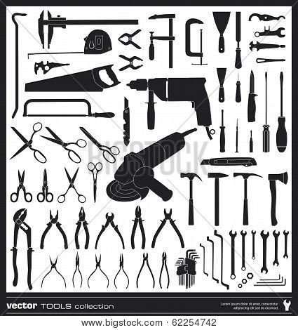 Tools Vector Silhouettes