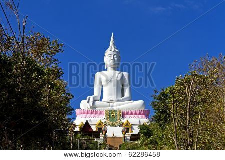 White Statue Big Buddha