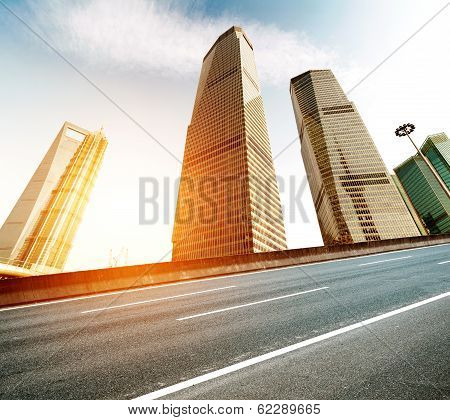 Skyscrapers In Shanghai, China