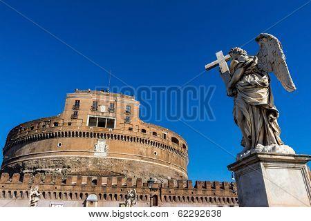 italy, rome, castel sant'angelo (castel sant 'angelo)