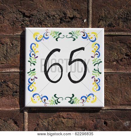 Number 65