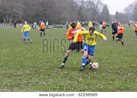 Amateur Football Match