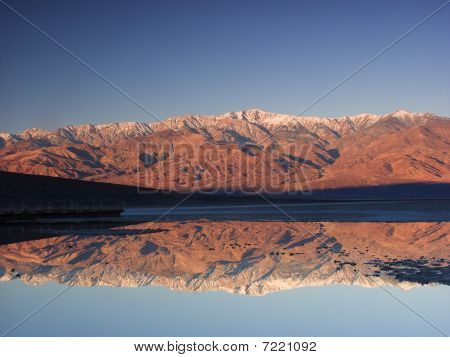 Sunrise in the Death Valley National Park poster