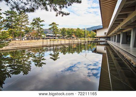 Nara Stree View With Nice Background