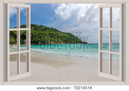 The Open Window, With Sea Views