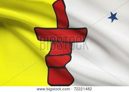 Canadian Provinces Flags Series - Nunavut