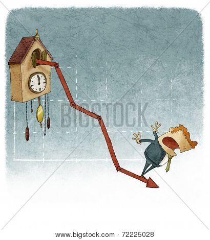 cuckoo clock growth graph