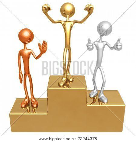 Winner's Podium