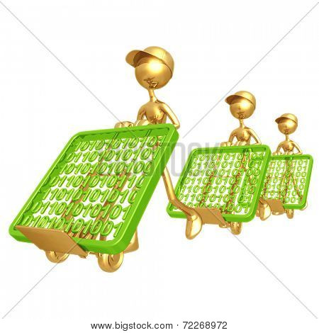 Binary Data Delivery