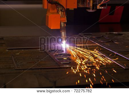 Industrial Plasma Cutting Machine