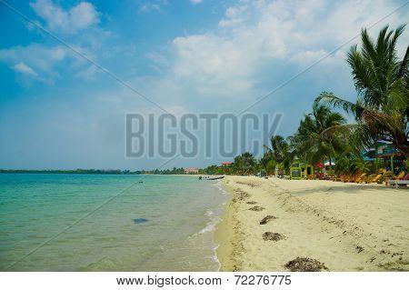 beach placencia belize