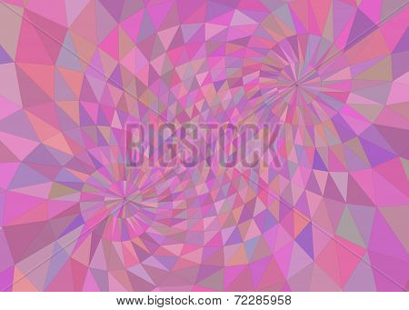 Multi-colored pink tinted geometric background