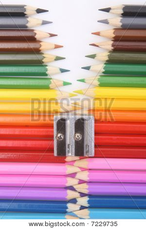 Colored Pencil Zipper